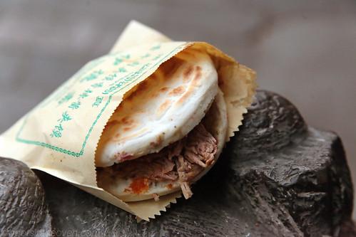 Rou Jia Mou: 肉夹馍