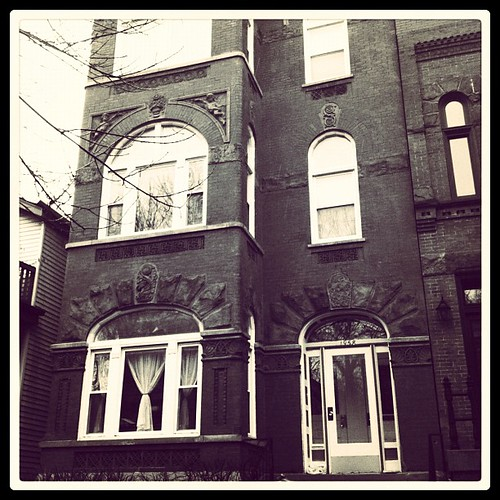 Nelson Algren's house, Chicago #doubleinstagram
