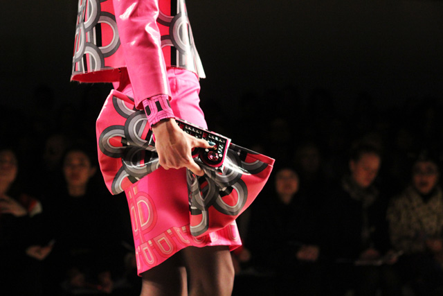 holly fulton AW12 london fashion week