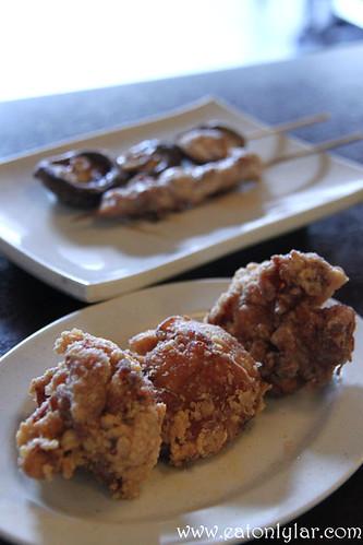 Karaage Chicken (唐揚げ), Sanuki Udon