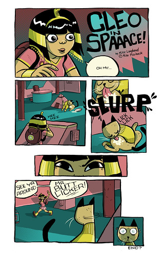 Cleopatra in Spaaaaace Guest Comic