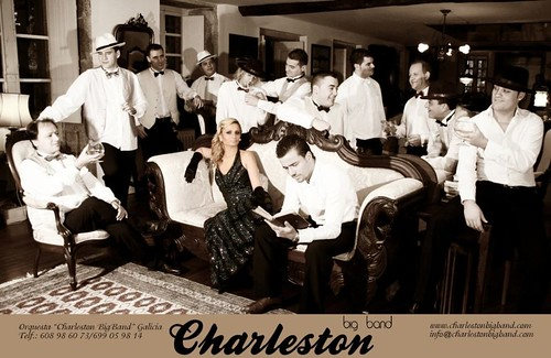 Charleston Big Band 2007 - orquesta - cartel