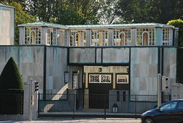 Garage et pergola du palais Stoclet