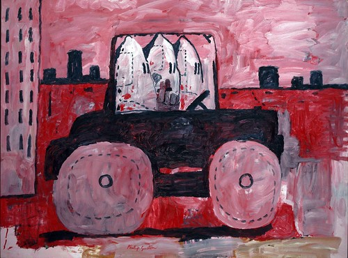 Philip Guston - City Limits [1969] by Gandalf's Gallery