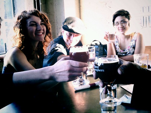 Cheers! Flying Pigeon LA's brewery ride visits Little Bear in DTLA
