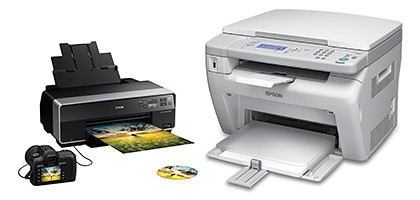 Epson's range of printers from personal to office multifunction machines.