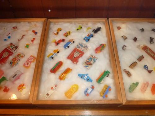 グリコのおまけコレクション at お菓子博物館