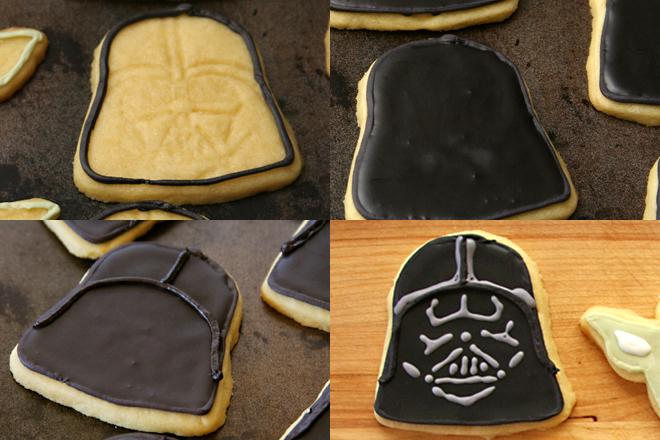 star wars cookies 2 vader