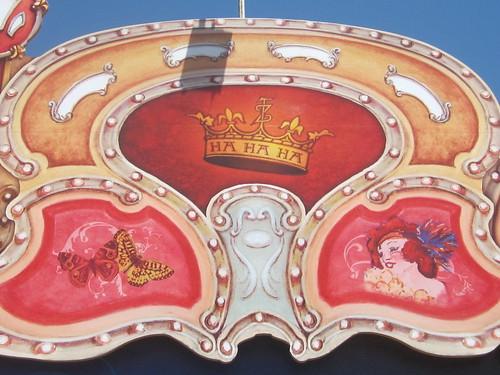 Teatro Zinzanni Signage