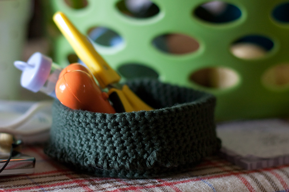 Floppy Crochet Bowl