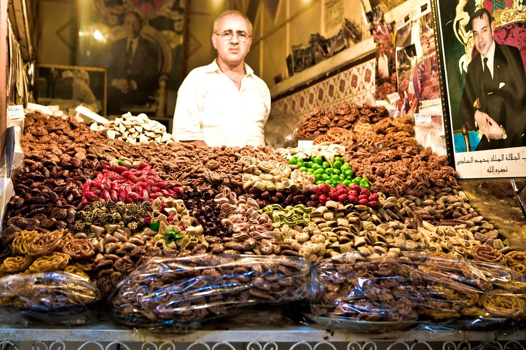 Anima at the markets in Marrakech