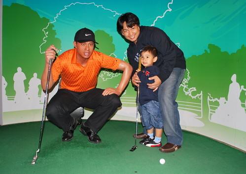 Tiger Woods Wax