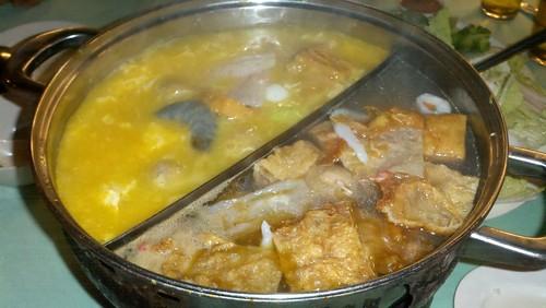 馬來西亞吃淋園粥火鍋5
