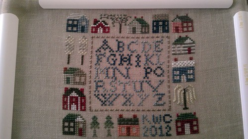 12 Houses Sampler--16March12