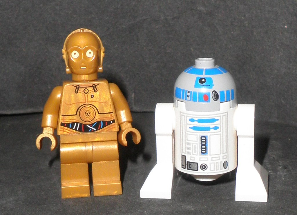R2d2 And C3po Lego BRAND NEW STAR WARS LE...