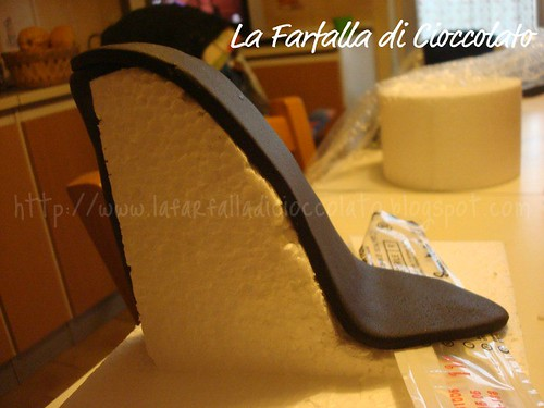 Tutorial scarpa con tacco
