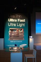 Ultra Thin, Ultra Fast, Ultra Light