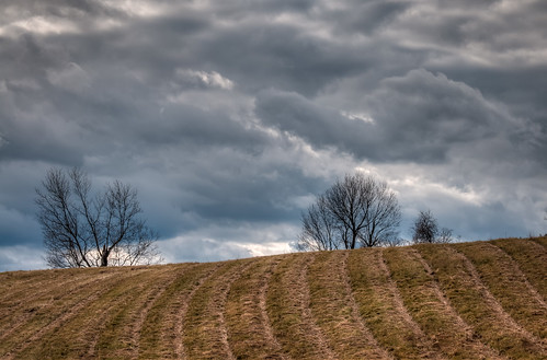 ontario canada storm field clouds hill hay hdr lanark lanarkcounty