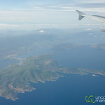 Flying Over Greek Islands