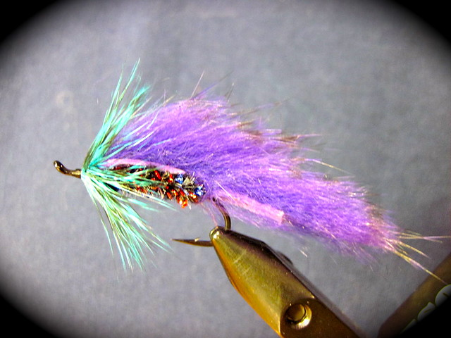 Purple Steelhead Matuka fly