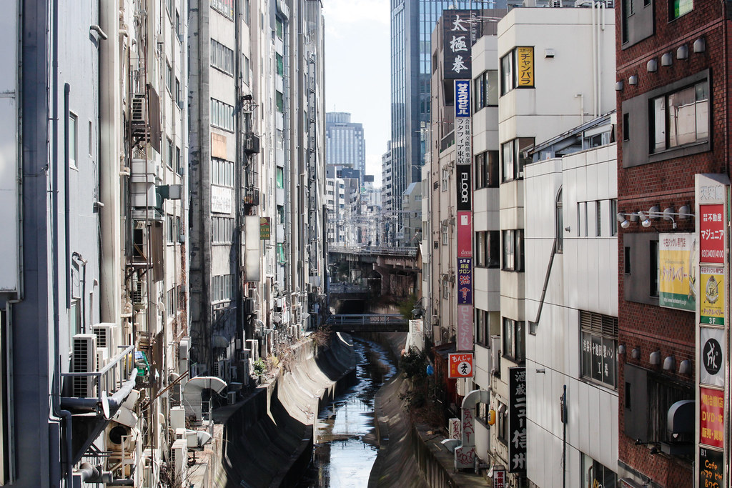 Canal in Tokyo