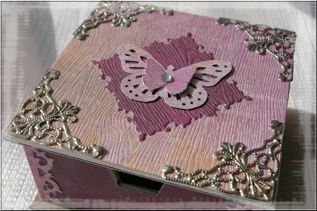 Bo te bijoux chris 39 scrap - Fabriquer une boite a bijoux ...
