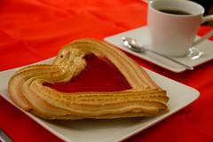 meal, breakfast, baking, baked goods, food, dish, dessert, cuisine, snack food, churro,