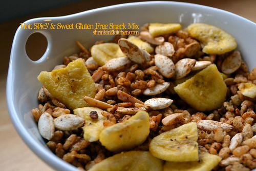 Hot, Spicy and Sweet Snack Mix