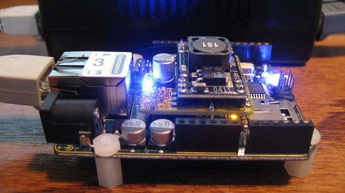 Chip overclock power over ethernet with arduino