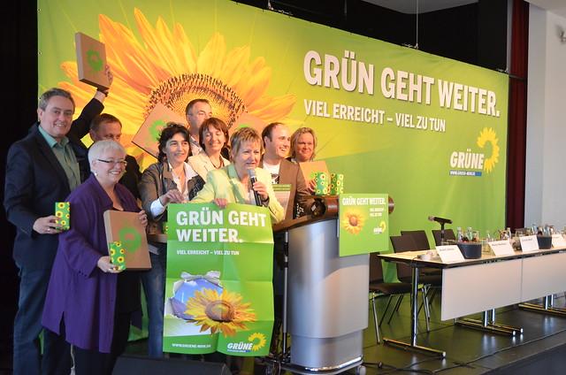 GRÜNE starten in den NRW-Wahlkampf mit Sylvia Löhrmann