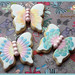 Rainbow Butterfly Cookies by Scrumptious Buns (Samantha)
