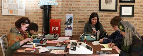 Binth Letter Social