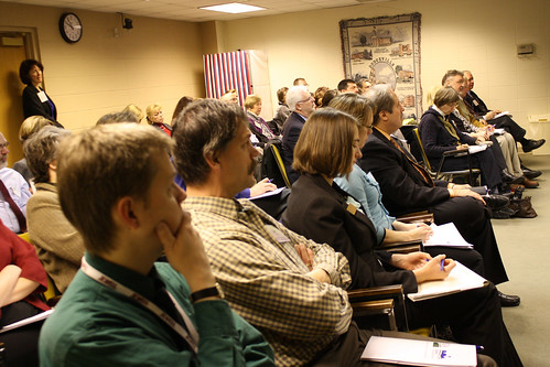 Forum attendees listen to guest speakers describing current efforts, and the positive affect they have had on improving the economic climate in Southwestern WI.