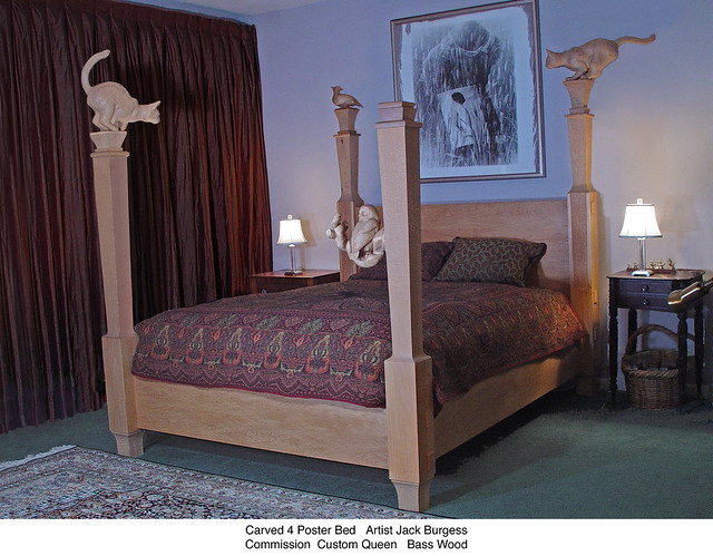 Carved poster bed flickr photo sharing