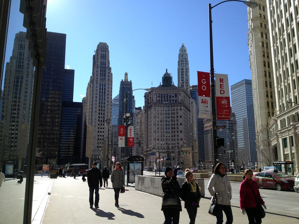 Windy City - See Highlights From Around Chicago, Illinois! (via Wading in Big Shoes)