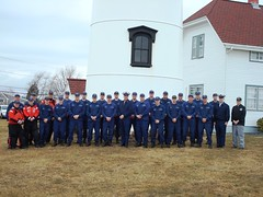 MCPOCG meets with crew of Coast Guard Station Chatham