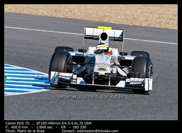 Team HRT F1, Pedro de la Rosa, 2012
