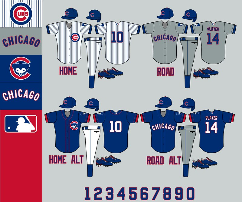 Chicago Cubs: Uniforms