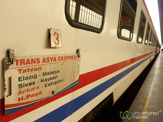 Trans-Asya Express, Iran to Turkey