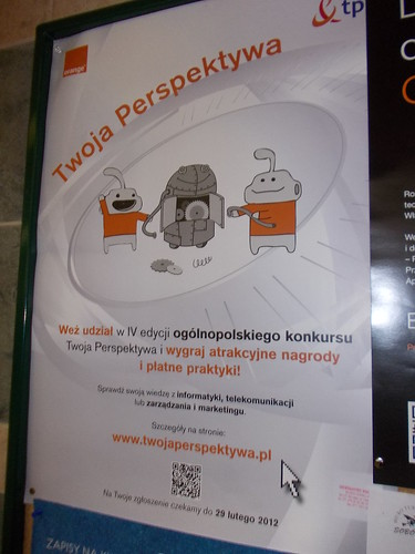 Qr-Code in Wroclaw
