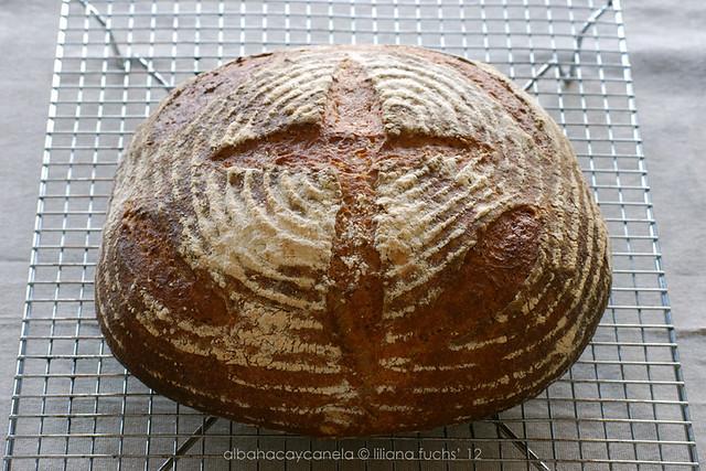 Pan grande de espelta
