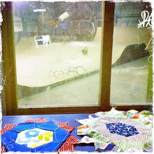 EPP at Plano, TX skate park by DukeSaysSewWhat.blogspot.com