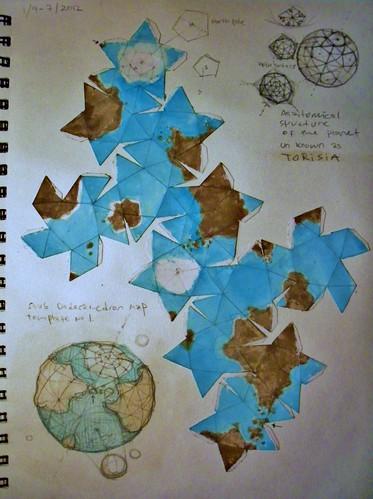 Torisia dodeca Map AA12
