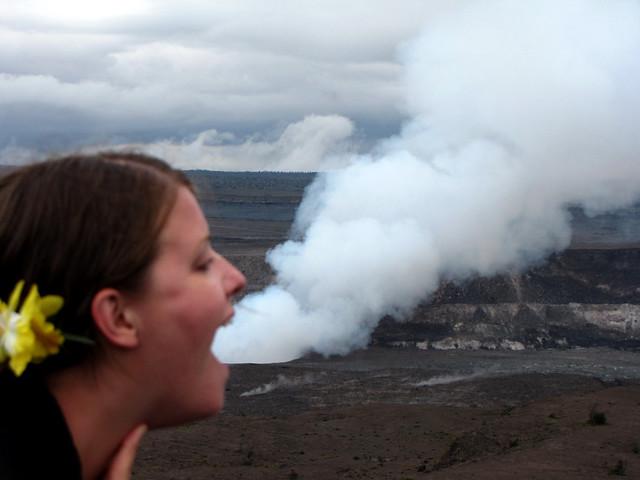 Karen breaths fire