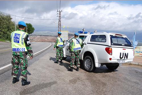 POM TNI pantau Panorama Lebanon