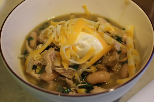 Crockpot Chicken Chili Verde