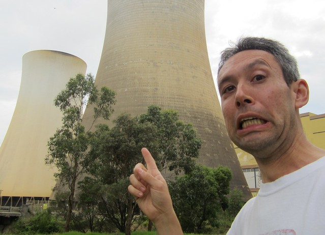 Big cooling towers