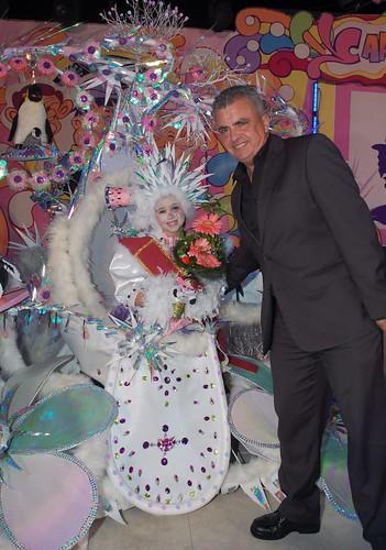 Reina Infantil del Carnaval de Ycod