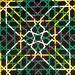 formas del color Karl Gertsner trama alhambra