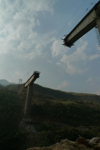 Mekong River Bridge - S323 - Yunnan, China